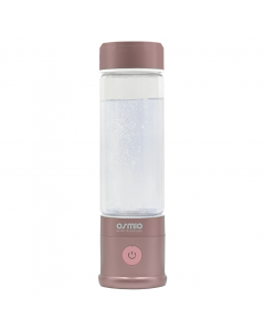 Osmio Duo Hydrogen Water Bottle 400ml In Ash Rose