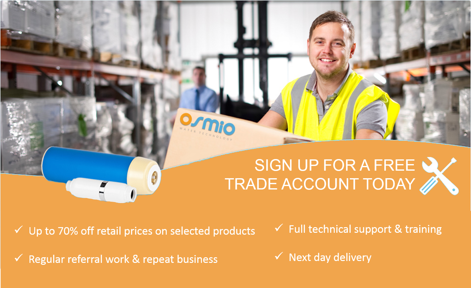 Apply for a trade account today